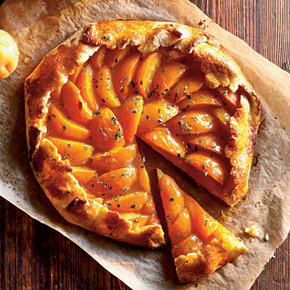 Apricot-Thyme Galette Recipe