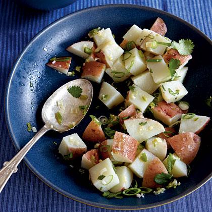 Lemongrass and Ginger Potato Salad Recipe