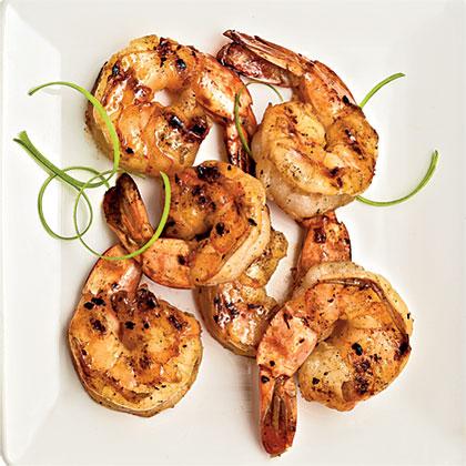 Lemongrass and Garlic Shrimp