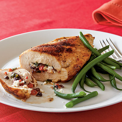 Mediterranean stuffed chicken breasts recipe myrecipes mediterranean stuffed chicken breasts forumfinder Images