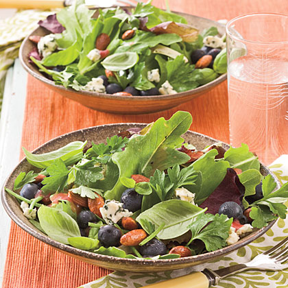 Blueberry-Gorgonzola SaladRecipe