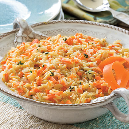 Carrot OrzoRecipe