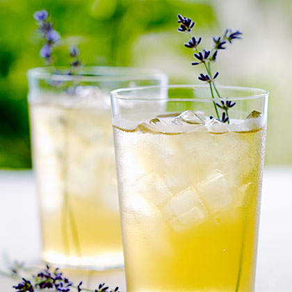 Iced Lavender Green Tea