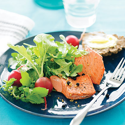 Seattle Pickled Salmon Salad