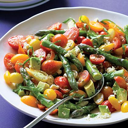 Cherry Tomato and Asparagus Salad