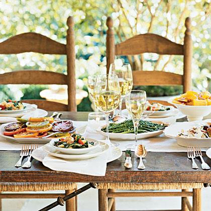 Make-Ahead Summer Buffet