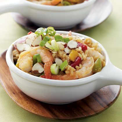 Shrimp Stir-Fry with Ginger