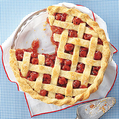 The lore of George Washington and the cherry tree is nearly as tempting as this freshly baked cherry pie. Celebrate one of our Founding Fathers by raising a spoon and adding a scoop of vanilla ice cream.Classic Cherry Pie Recipe