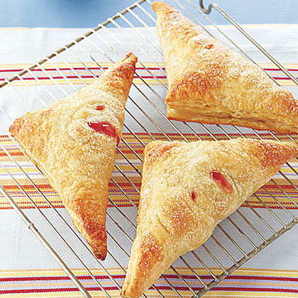 Nectarine-Raspberry Hand Pies Recipe