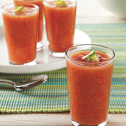 Spicy Gazpacho Shots Recipe