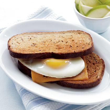 sharp-cheddar-eggs-rye Recipe