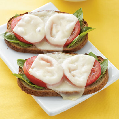 tomato-mozzarella-melt