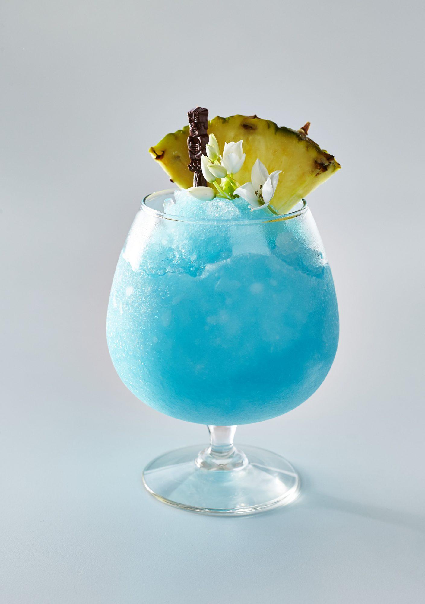 Blended Blue Hawaiian
