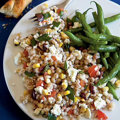 Summer Barley Salad Recipe | MyRecipes.com