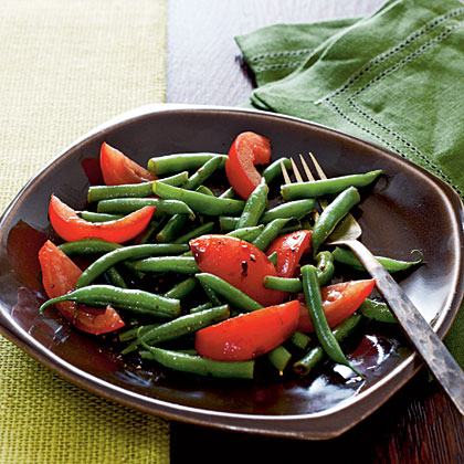 Green Bean and Tomato Salad Recipe