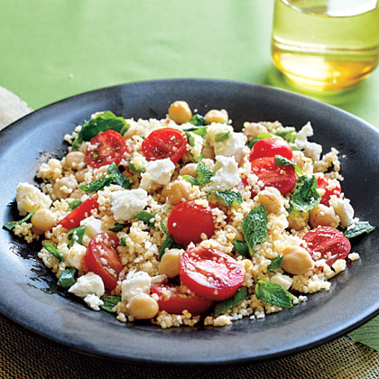 Couscous Salad with ChickpeasRecipe