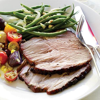 Pork shoulder roast recipe grill