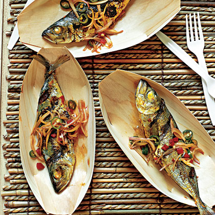 Ikan Bakar (Barbecue Fish)