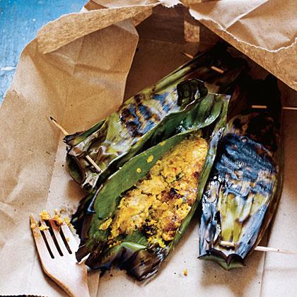 Otak Otak (Grilled Fish Quenelles) Recipe