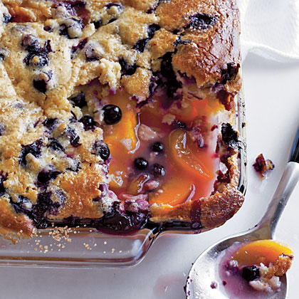 Blueberry-Peach CobblerRecipe