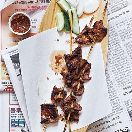 Satay (Grilled Skewers)Recipe