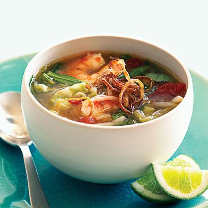 Sweet and Sour Shrimp Soup