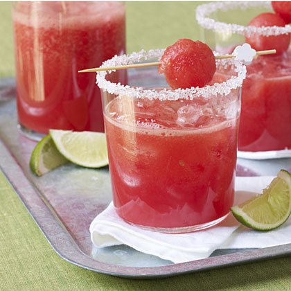 Watermelon Margaritas Recipe - 1 | MyRecipes