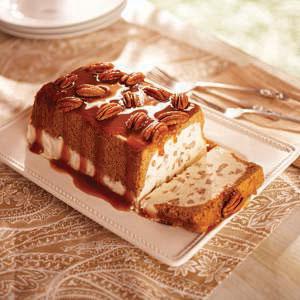 Eagle Brand Butter Pecan Ice Cream Loaf Recipe
