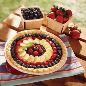 Eagle Brand Fresh Fruit Cream Cheese Pie Recipe