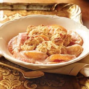 Eagle Brand Creamy Peach Cobbler Recipe