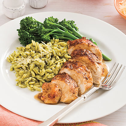 Balsamic-Garlic Chicken Breasts