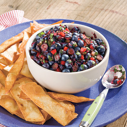 Blueberry Salsa Recipe