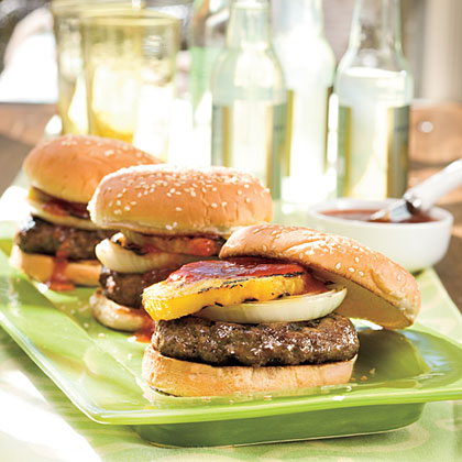 Sweet-and-Savory BurgersRecipe