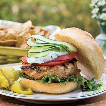 Greek Turkey Burgers Recipe MyRecipes
