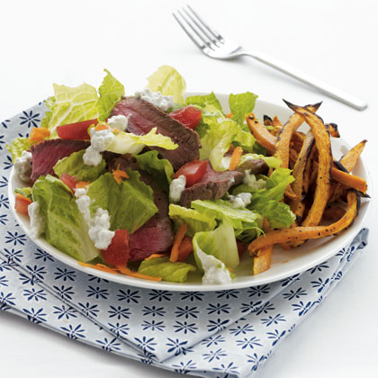sirloin-salad-sweet-potato Recipe
