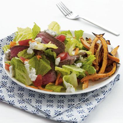 sirloin-salad-sweet-potato Recipe