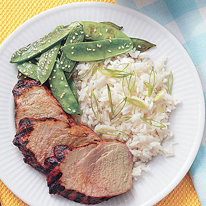 Spicy Asian Pork Tenderloin