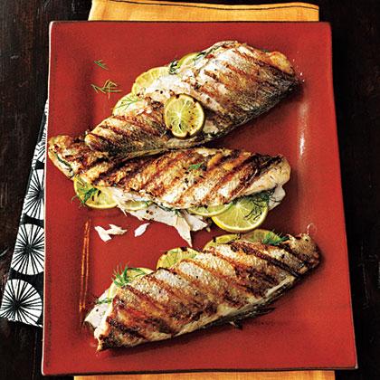 Grilled Trout Recipe Myrecipes