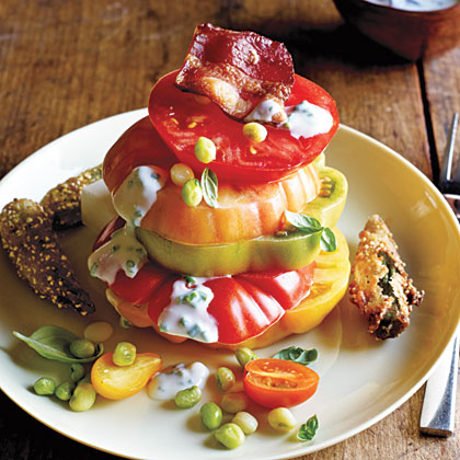 Hot and Hot Tomato Salad