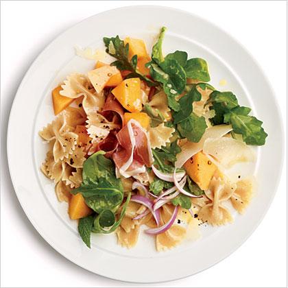 Prosciutto and Melon Pasta Salad