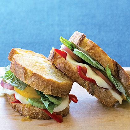 Grilled Caprese SandwichesRecipe