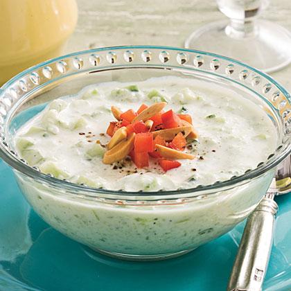 Creamy Cucumber Soup Recipe