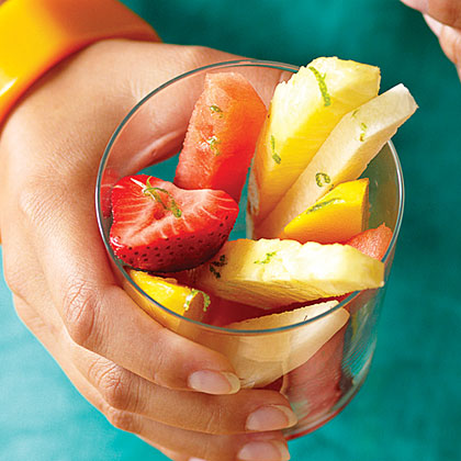 Fruit Cocktail with Margarita Dressing Recipe