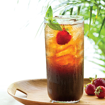 Garden Variety RecipeBalsamic vinegar complements the heady sugarcane rum in the Garden Variety by Daniel Shoemaker of Portland's Teardrop Cocktail Lounge.
