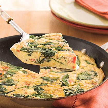 Tomato-Herb Frittata Recipe
