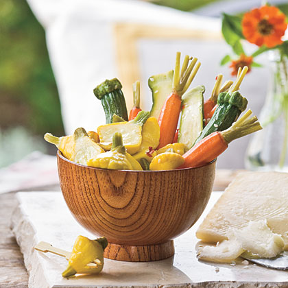 Sweet-and-Sour Veggie Pickles