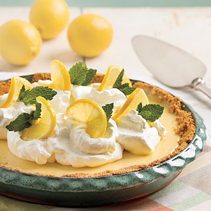 Zesty Lemon PieRecipe