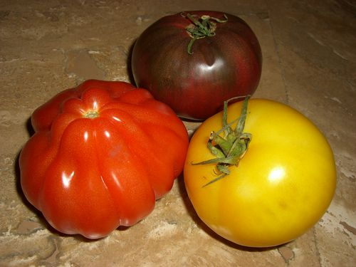 Summer Heirloom Produce