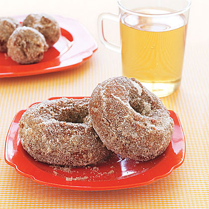 Apple Cider Doughnuts RecipeServe your friends the flavors of fall with Apple Cider Doughnuts, spiced with a generous portion of cinnamon.