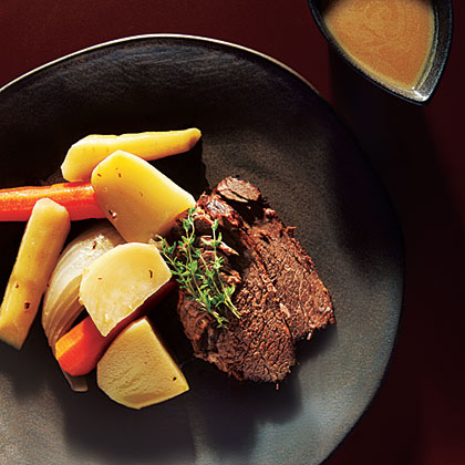 Beef Pot Roast and Gravy